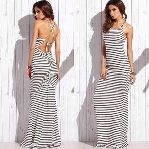 Dresses & Skirts - Striped Maxi Dress